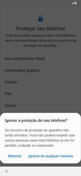 Samsung Galaxy A20 - Primeiros passos - Como ativar seu aparelho - Etapa 15