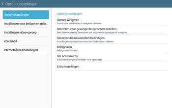 Samsung Galaxy Tab4 10.1 4G (SM-T535) - Voicemail - Handmatig instellen - Stap 6