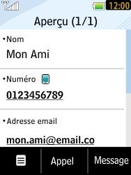 LG T385 - Contact, Appels, SMS/MMS - Ajouter un contact - Étape 10