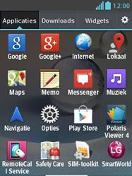 LG E430 Optimus L3 II - Voicemail - handmatig instellen - Stap 4