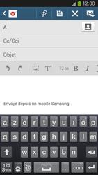 Samsung C105 Galaxy S IV Zoom LTE - E-mail - envoyer un e-mail - Étape 4