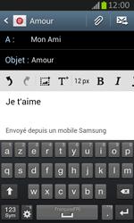 Samsung S7710 Galaxy Xcover 2 - E-mail - envoyer un e-mail - Étape 9