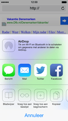 Apple iPhone 5 iOS 7 - Internet - hoe te internetten - Stap 13