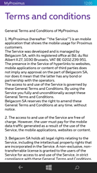Nokia Lumia 735 - Applications - MyProximus - Step 11