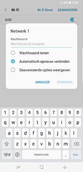 Samsung Galaxy S8 Plus - Wifi - handmatig instellen - Stap 7