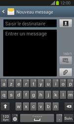 Samsung Galaxy Express - Contact, Appels, SMS/MMS - Envoyer un MMS - Étape 5