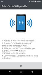 HTC Desire 530 - Internet et connexion - Partager votre connexion en Wi-Fi - Étape 16