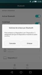 Huawei Ascend G7 - Bluetooth - Conectar dispositivos a través de Bluetooth - Paso 7