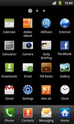 Samsung I9001 Galaxy S Plus - Network - Usage across the border - Step 3