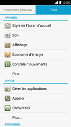 Bouygues Telecom Ultym 5 - Applications - Supprimer une application - Étape 4