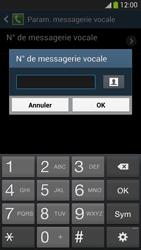 Samsung I9505 Galaxy S IV LTE - Messagerie vocale - configuration manuelle - Étape 9