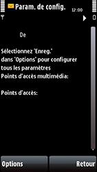 Nokia 5800 Xpress Music - Paramètres - Reçus par SMS - Étape 9