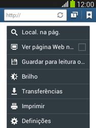 Samsung Galaxy Pocket Neo - Internet no telemóvel - Como configurar ligação à internet -  22