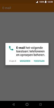 ZTE Blade V9 - E-mail - Handmatig instellen (outlook) - Stap 7