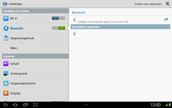 Samsung P5100 Galaxy Tab 2 10-1 - Bluetooth - headset, carkit verbinding - Stap 6