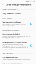 Samsung Galaxy A5 2016 (SM-A510F) - Android Nougat - Beveiliging en ouderlijk toezicht - Hoe wijzig ik mijn SIM PIN-code - Stap 6