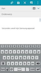 Samsung A500FU Galaxy A5 - E-mail - E-mails verzenden - Stap 5