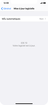 Apple iPhone X - iOS 13 - Appareil - Mise à jour logicielle - Étape 7