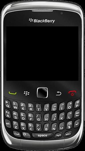 BlackBerry curve 3G - Premiers pas - Découvrir les touches principales - Étape 2