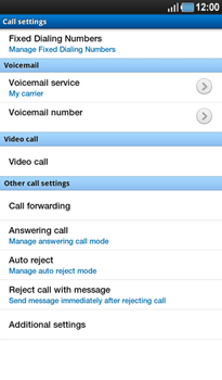 Samsung P1000 Galaxy Tab - Voicemail - Manual configuration - Step 8