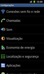 Samsung I9100 Galaxy S II - Rede móvel - Como ativar e desativar uma rede de dados - Etapa 4
