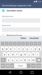 LG K10 4G - E-mail - Account instellen (POP3 met SMTP-verificatie) - Stap 17