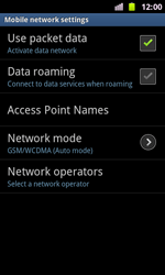 Samsung I8160 Galaxy Ace II - Network - Usage across the border - Step 10