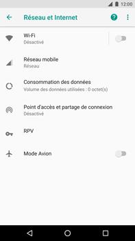 Huawei Nexus 6P - Android Oreo - Réseau - Activer 4G/LTE - Étape 5