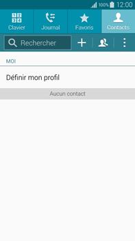 Samsung Galaxy Note 4 - Contact, Appels, SMS/MMS - Ajouter un contact - Étape 4