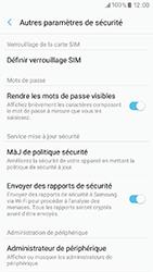 Samsung Galaxy A3 (2017) (A320) - Sécuriser votre mobile - Personnaliser le code PIN de votre carte SIM - Étape 6