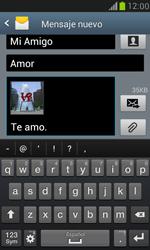Samsung Galaxy S3 Mini - Mensajería - Escribir y enviar un mensaje multimedia - Paso 15