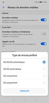 Huawei P20 Lite - Réseau - Changer mode réseau - Étape 6