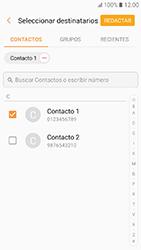 Samsung Galaxy A3 (2017) (A320) - Mensajería - Escribir y enviar un mensaje multimedia - Paso 7