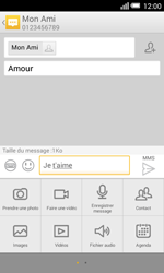Alcatel Pop S3 (OT-5050X) - MMS - envoi d'images - Étape 12
