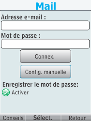 Nokia 301-1 - E-mail - Configuration manuelle - Étape 8