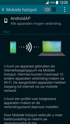 Samsung G900F Galaxy S5 - WiFi - Mobiele hotspot instellen - Stap 6