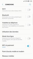 Samsung Galaxy S7 edge - Android Nougat - WiFi et Bluetooth - Configuration manuelle - Étape 5