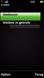 Sony Ericsson U1i Satio - E-mail - Handmatig instellen - Stap 7
