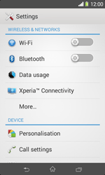 Sony D2005 Xperia E1 - Network - Usage across the border - Step 4