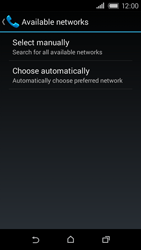 HTC Desire 320 - Network - Usage across the border - Step 6