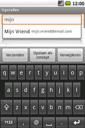 Samsung I7500 Galaxy - E-mail - Hoe te versturen - Stap 7