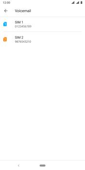 Nokia 9 - Voicemail - handmatig instellen - Stap 8