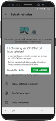 Samsung galaxy-note-10-dual-sim-sm-n970f - Applicaties - Aankopen doen in de Google Play Store met je KPN abonnement - Stap 7