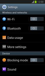 Samsung S7390 Galaxy Trend Lite - Mms - Manual configuration - Step 4