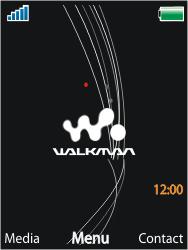 Sony Ericsson W910i - Bellen - in het buitenland - Stap 1