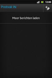 Sony ST27i Xperia Go - E-mail - E-mails verzenden - Stap 13