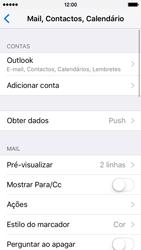 Apple iPhone 5s iOS 9 - Email - Adicionar conta de email -  9