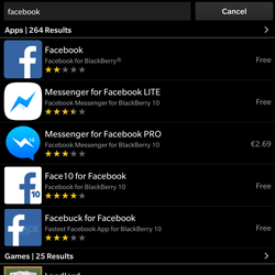 BlackBerry Passport - Applications - Downloading applications - Step 7