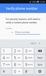 Samsung G389 Galaxy Xcover 3 VE - Applications - Create an account - Step 7