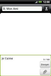 HTC A510e Wildfire S - MMS - envoi d'images - Étape 6